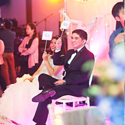 Make Your Wedding Extraordinary With Sensitivity Lights and Sounds!