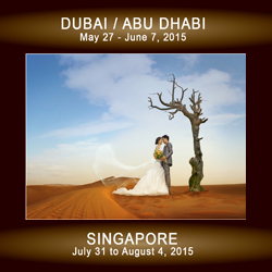 Vignette Photography Goes to Dubai, Abu Dhabi, and Singapore