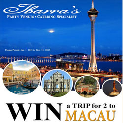 Win a Trip for 2 to Macau!