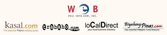 Web Phil Info.com logos