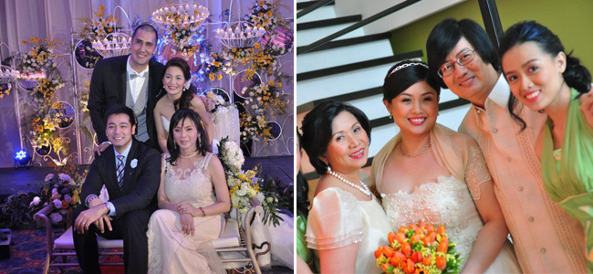 From left to right: Weddings By Events Manila and Simply Beautiful Events