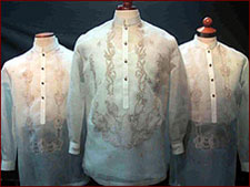 Barongs from Exclusively His