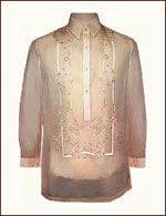 Peach jusi barong from Exclusively His