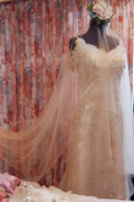 Merlene's Wedding Gown. Photo by Raymund Marcelo.