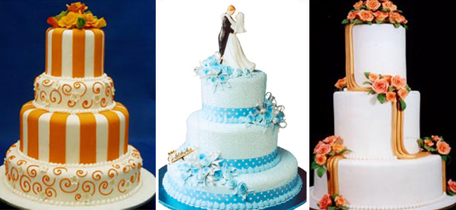 Wedding Cakes By Goldilocks