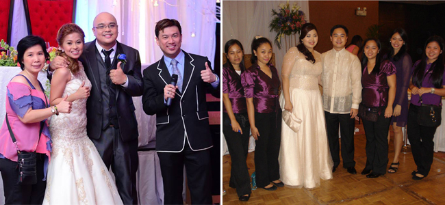From left to right: Weddings By Zyndee Co - Special Events Consultant and Gen Lee Events