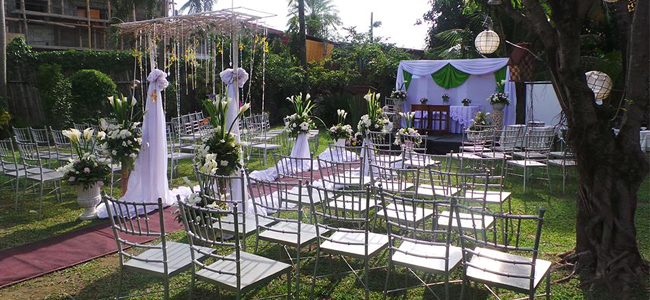 Iloilo Wedding at Esca's Garden Restaurant