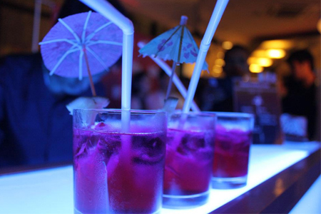 Mixed Mobile Bar at Fitflop Winter/Autumn Collection Grand Launch
