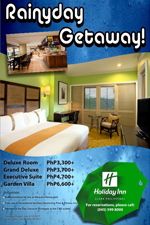 Holiday Inn Clark Promo