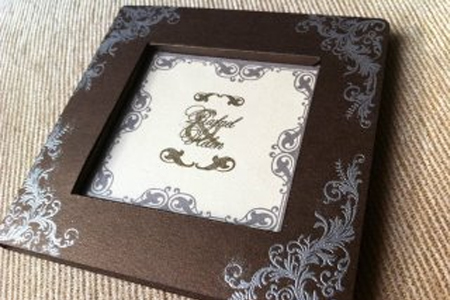 A simple invitation by Ms.Sunny Cards & Crafts Collection
