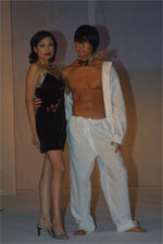 A choice of lingerie for couples from Oh Behave! Hot Couture by Shirley Duque