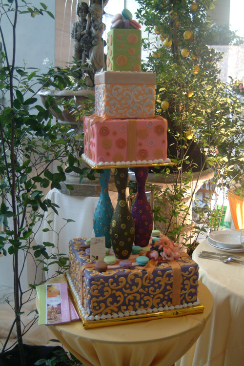 Garden-inspired setup by Bizu Private Caterer, Bizu Patiserrie Cakes ...