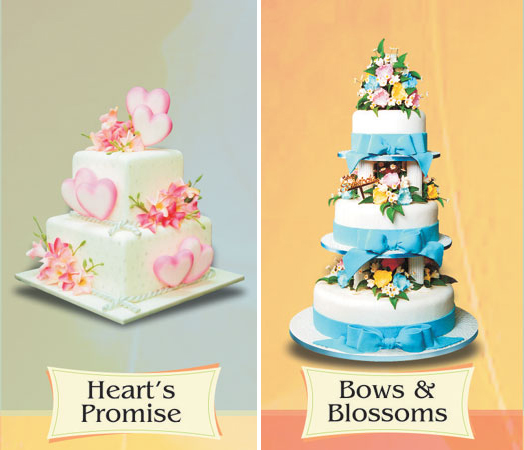 Wedding Cakes by Goldilocks Bakeshop