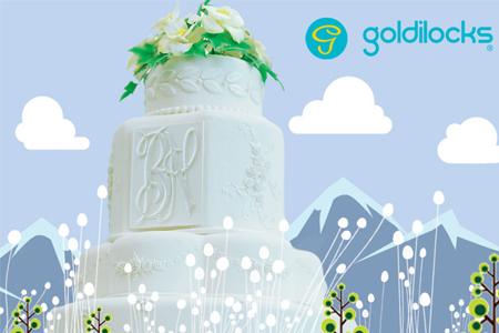 Dream wedding cake within reach goldilocks bakeshop kasal 1 publicscrutiny Gallery