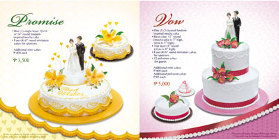 Goldilocks Wedding Cakes Pictures And Prices