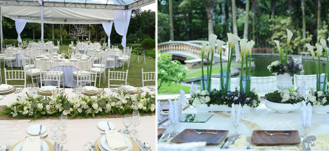 Garden Wedding at Hillcreek Gardens