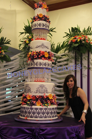 More Than Just A Piece Of Cake Honey Glaze Cakes Kasal ...