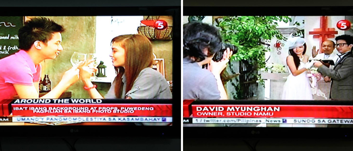 Studio Namu featured in TV5