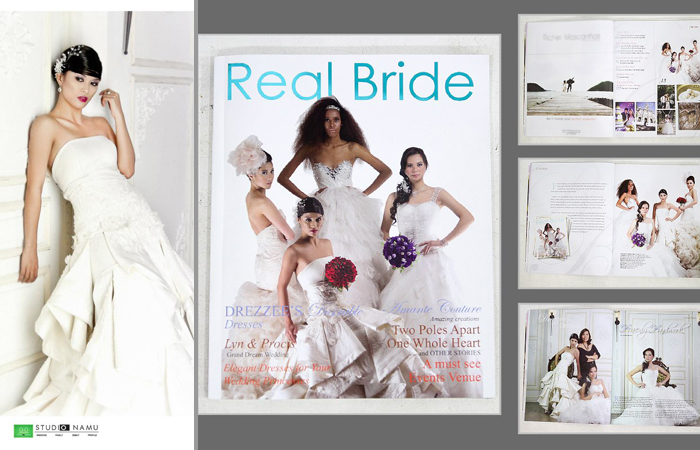 Studio Namu in Real Bride Magazine