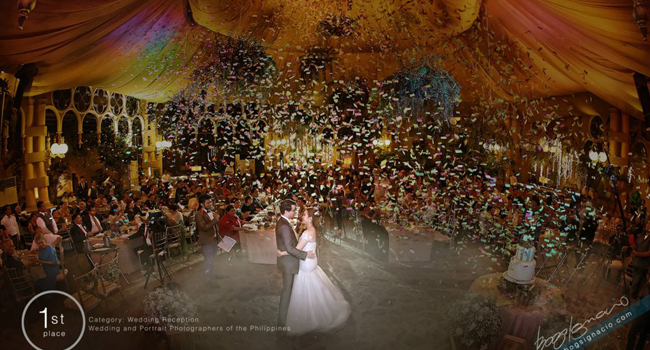 WPPP - 1st Place, Category: Wedding Reception<br/>Photo by Bogs Ignacio of Vignette Photography<br/>