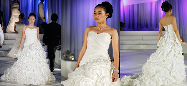 Ysabelle's Bridal at at Fashin Show in Bacolod City