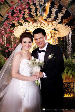 Carmina Villaroel – Zoren Legaspi Surprise Wedding