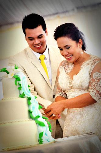 Jomar Lianko and Love Añover Wedding