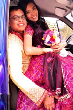 Joseph Rana Biswas and Nancy de-Sagun Biswas wedding