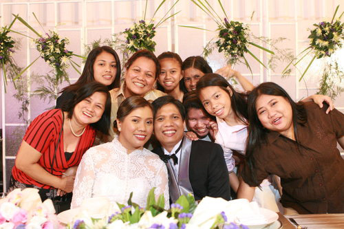 Ariel and karen wedding
