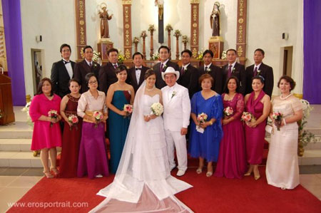 Real weddings kasalcom the essential philippine party for Principal sponsor wedding dress