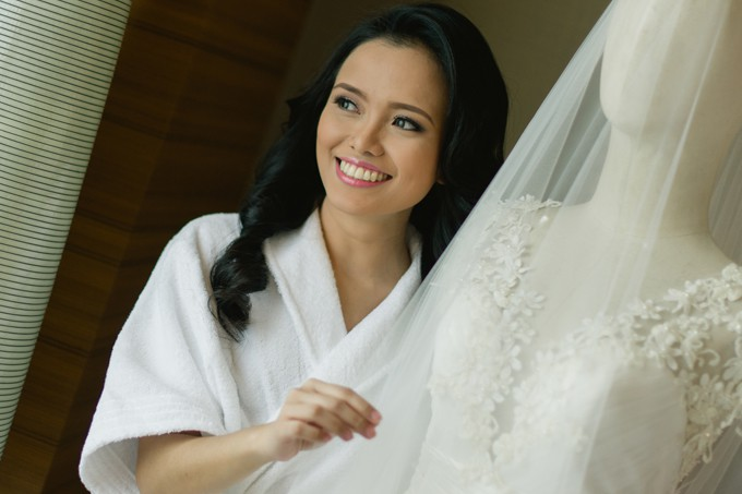 The Intimate Of Most Affairs Tallo Samontanez Real Wedding