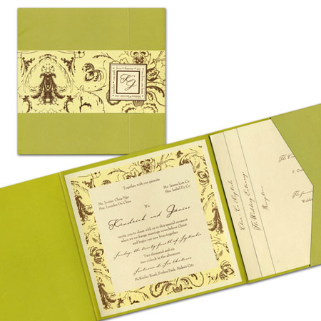 The Write Impression| Metro Manila Wedding Invitations | Metro Manila Wedding Invitation Makers | Kasal.com - The Philippine Wedding Planning Guide