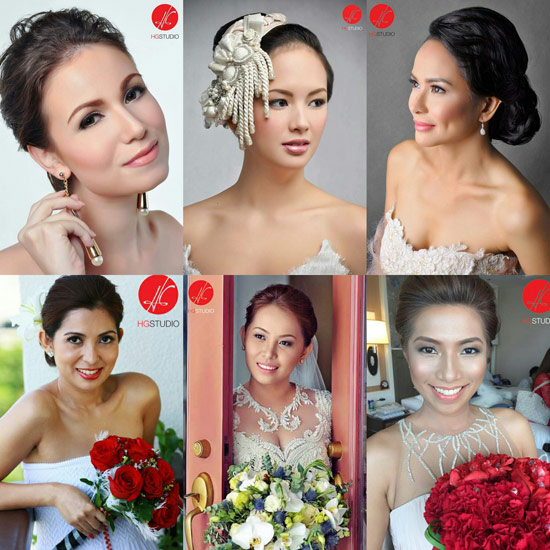 HG Studio| Metro Manila Bridal Hair & Make-up Salons | Metro Manila Bridal Hair & Make-up Artists | Kasal.com - The Philippine Wedding Planning Guide