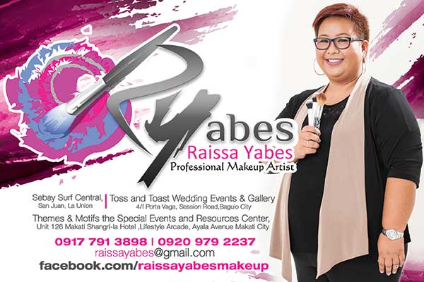 RYabes Professional Makeup Artistry| Benguet Bridal Hair & Make-up Salons | Benguet Bridal Hair & Make-up Artists | Kasal.com - The Philippine Wedding Planning Guide