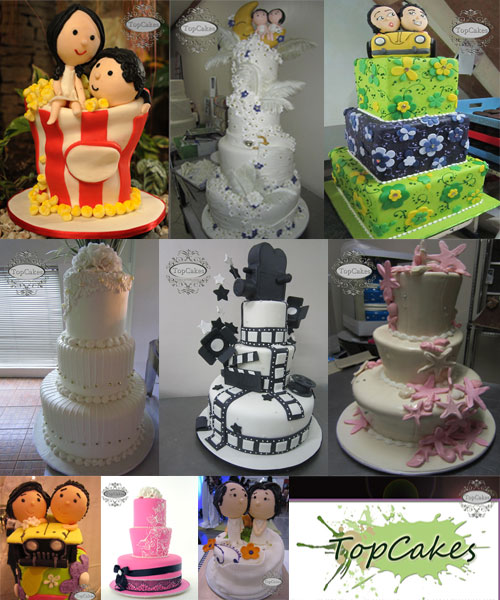 Top Cakes| Metro Manila Wedding Cake Shops | Metro Manila Wedding Cake Artists | Kasal.com - The Philippine Wedding Planning Guide