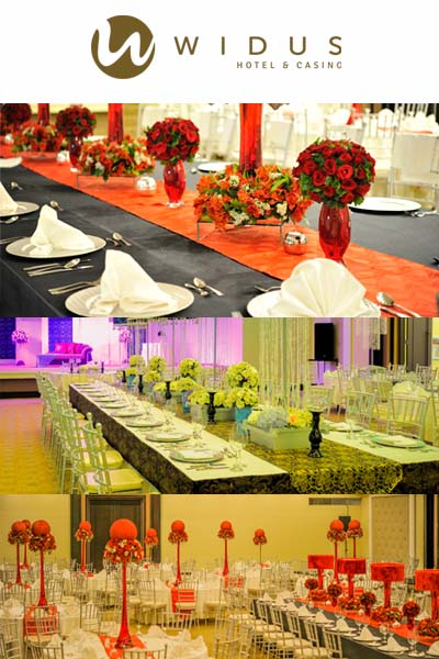 Widus Hotel and Casino| Pampanga Hotel Wedding | Pampanga Hotel Wedding Reception Venues | Kasal.com - The Philippine Wedding Planning Guide