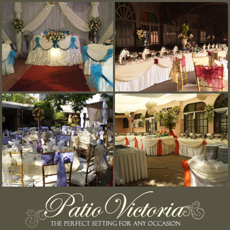 Patio Victoria| Metro Manila Garden Wedding | Metro Manila Garden Wedding Reception Venues | Kasal.com - The Philippine Wedding Planning Guide