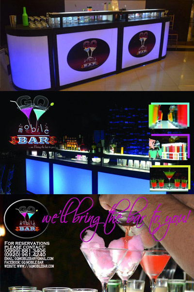 GQ Mobile Bar| Cavite Wedding Wines | Cavite Beverage Caterers | Cavite Wedding Cocktails, Mobile Bars | Kasal.com - The Philippine Wedding Planning Guide