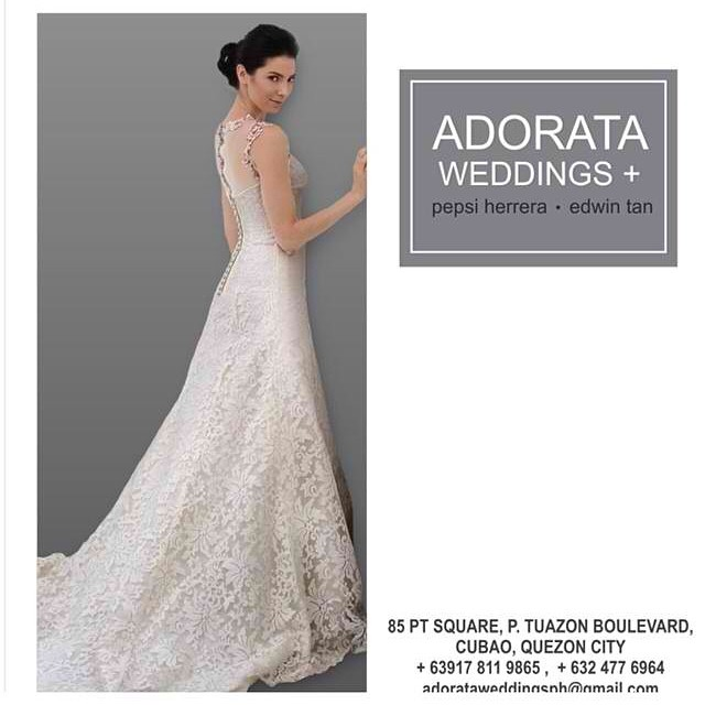 Adorata Weddings | Metro Manila Wedding Gowns | Metro Manila ...