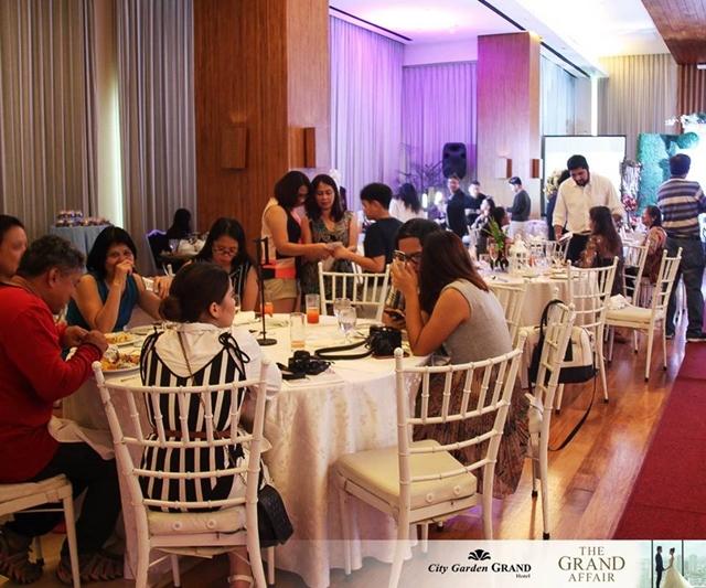 city garden grand hotel the grand affair food tasting