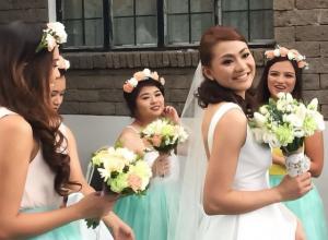 hg studio bride and entourage
