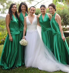 Bridesmaid Dresses by Rosalyn Lagdameo Couture