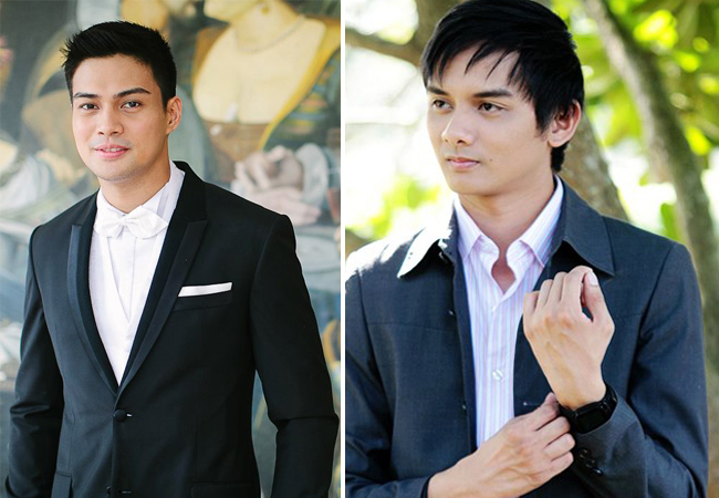 Photography By Eugene Martinez Photography (left) and Santiago Alfonso Fotografia (right)