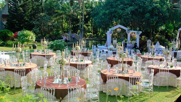 Garden Wedding Decoration ideas – Undercover Live Entertainment