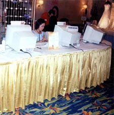 The pre-event and onsite registration systems were powered by Kasal.com