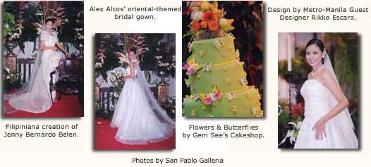 Kasalan sa San Pablo images. Photos by San Pablo Galleria