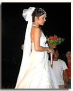 Ms. Amy Perez, in one of Sari-Sari's bridal collection