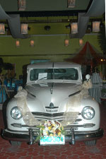 Vintage Bridal Car by Bichara Brothers
