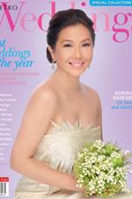 Korina Sanchez is a glowing bride in Metro Weddings Special Best Weddings Issue