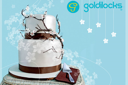 Dream Wedding Cake Within Reach Goldilocks Bakeshop Kasal Com